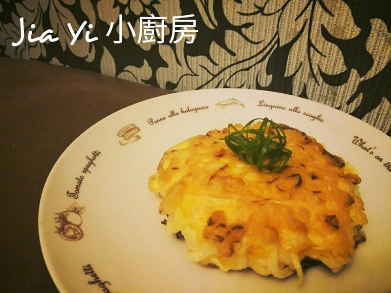 高麗菜煎餅【減肥料理】