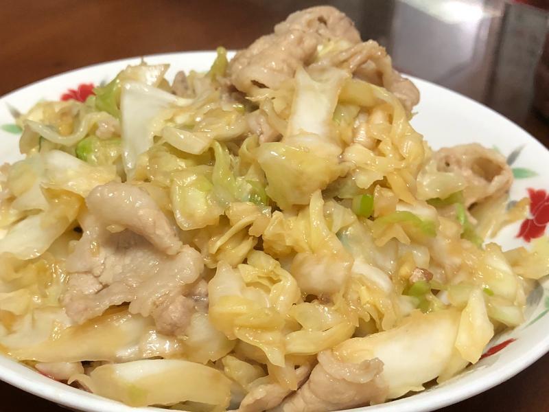 高麗菜炒豬五花
