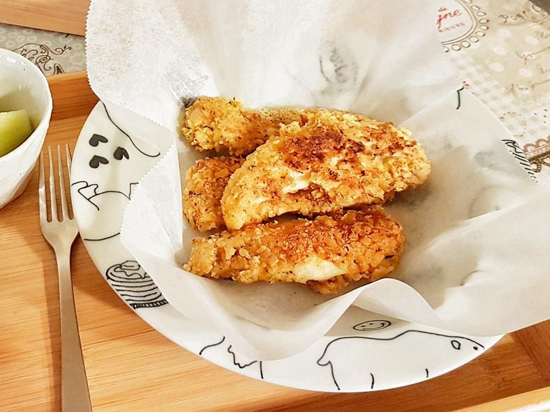 【超好吃酥脆炸雞里肌】 蘇打餅乾當麵包粉