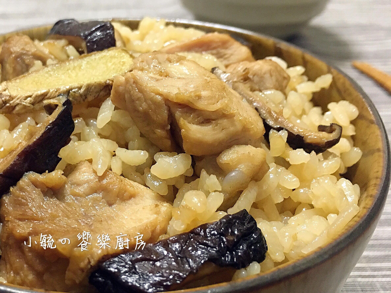 麻油香菇雞飯  【電鍋料理】