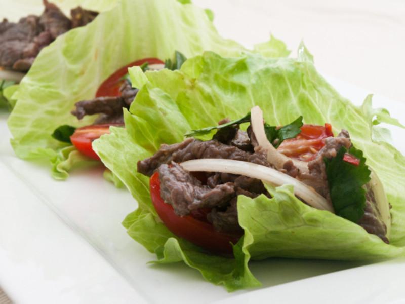 【吉刻美食】泰式鴕鳥肉沙拉