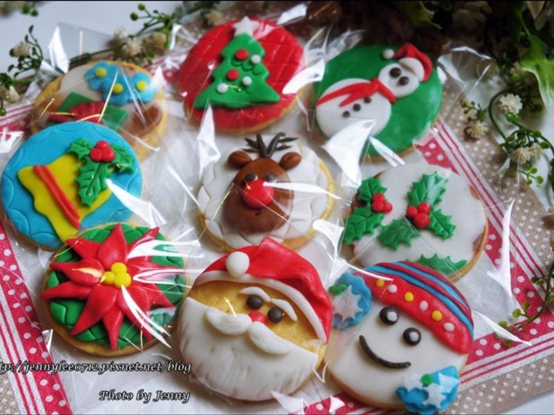 創意聖誕翻糖餅乾