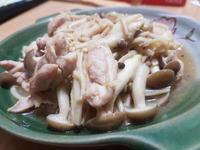 雙菇炒雞腿