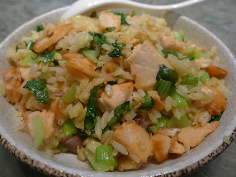品靚上菜-鮭魚黃金炒飯