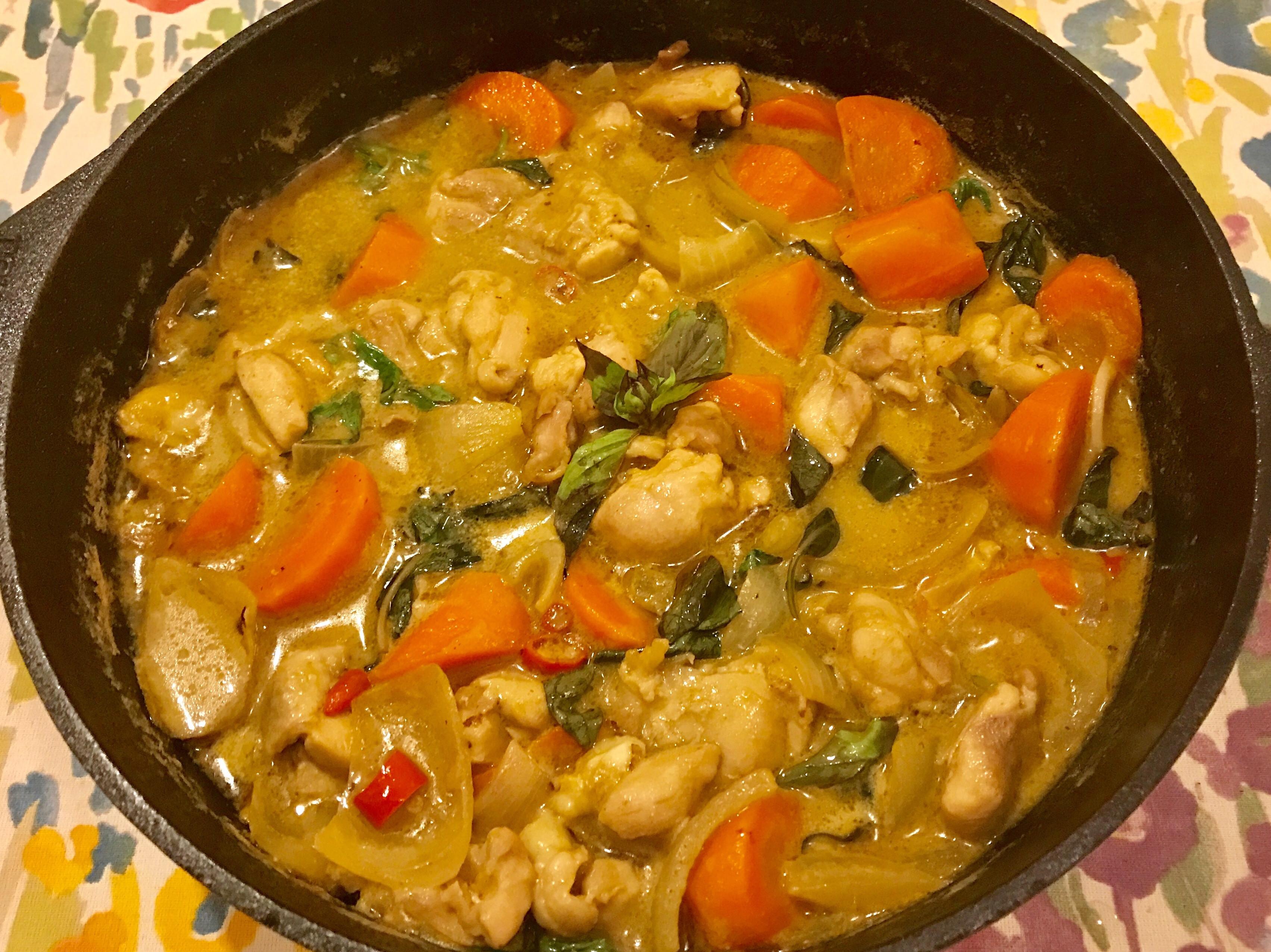 🌶️超下飯的泰式綠咖哩雞