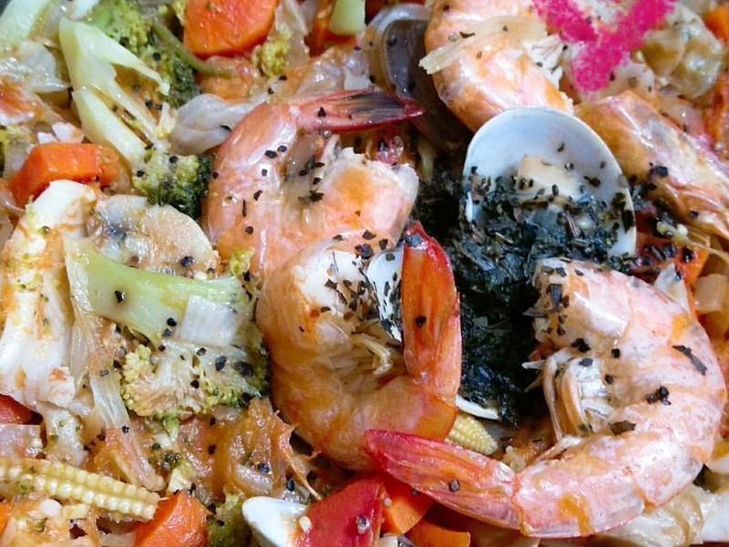 義式田園海鮮燉飯
