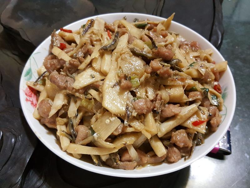 魚香竹筍炒肉絲
