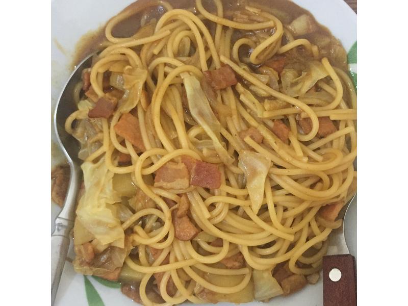 日式咖喱意大利面