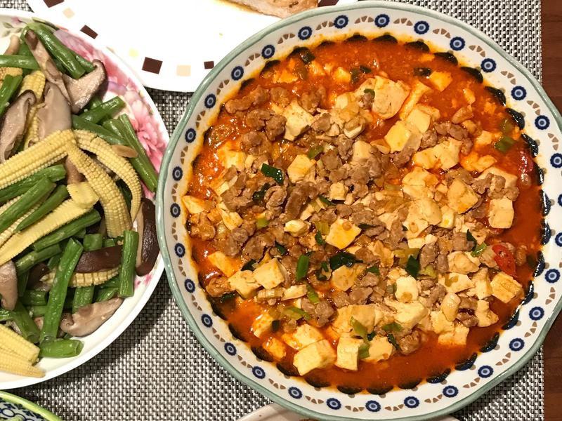 [台糖安心豚]麻婆豆腐
