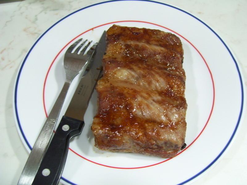 西餐料理簡單做-橘醬肋排