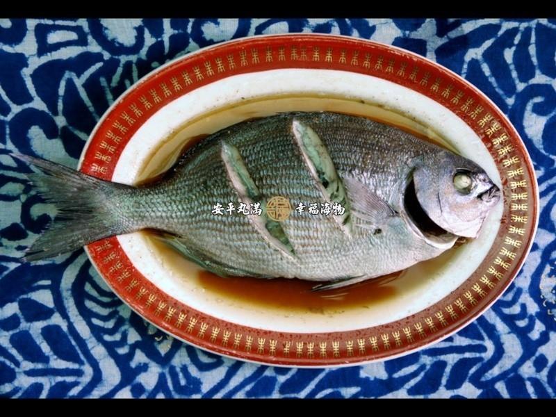 【幸福海物】清蒸白毛舵魚