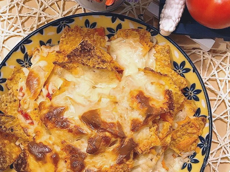 烤起司玉米脆片