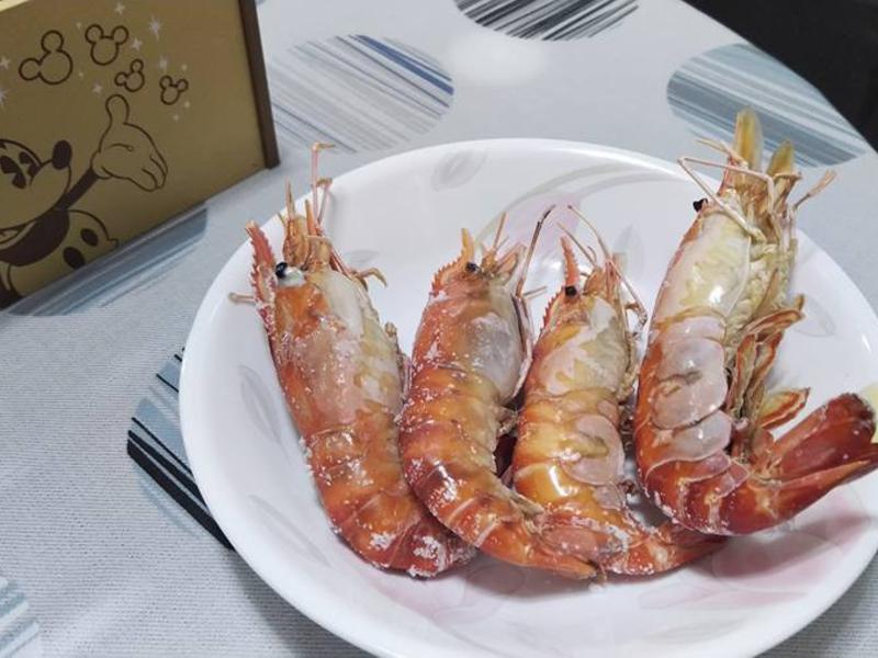 鹽烤泰國蝦