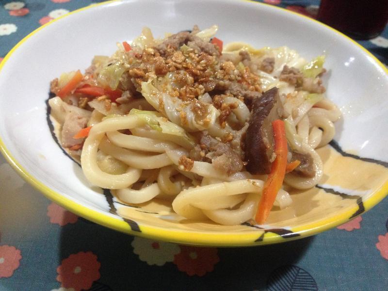 日式和風炒烏龍麵