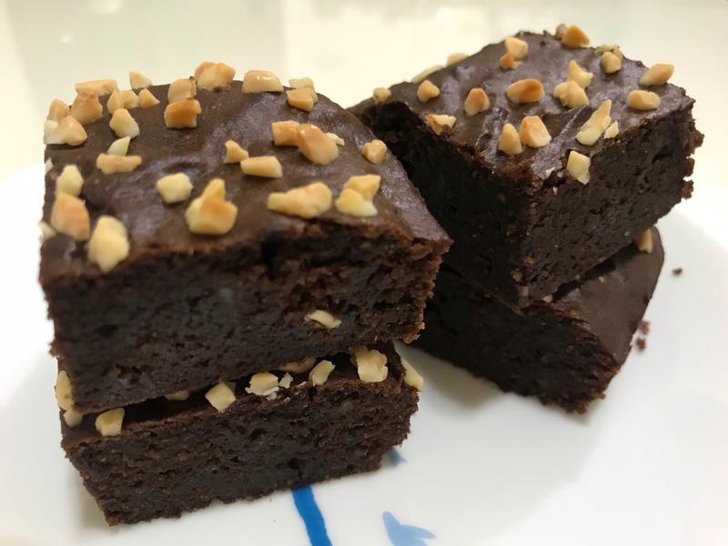 巧克力布朗尼(無麩質無奶製品)