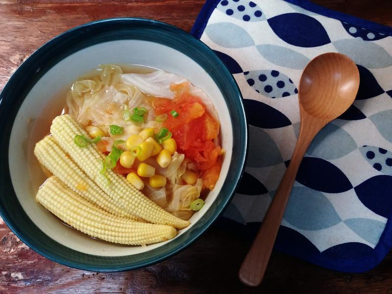 ▍低GI排毒 ▍檸香蔬菜湯