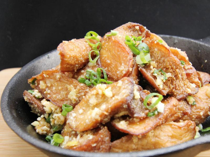 【厚生廚房】金沙杏鮑菇