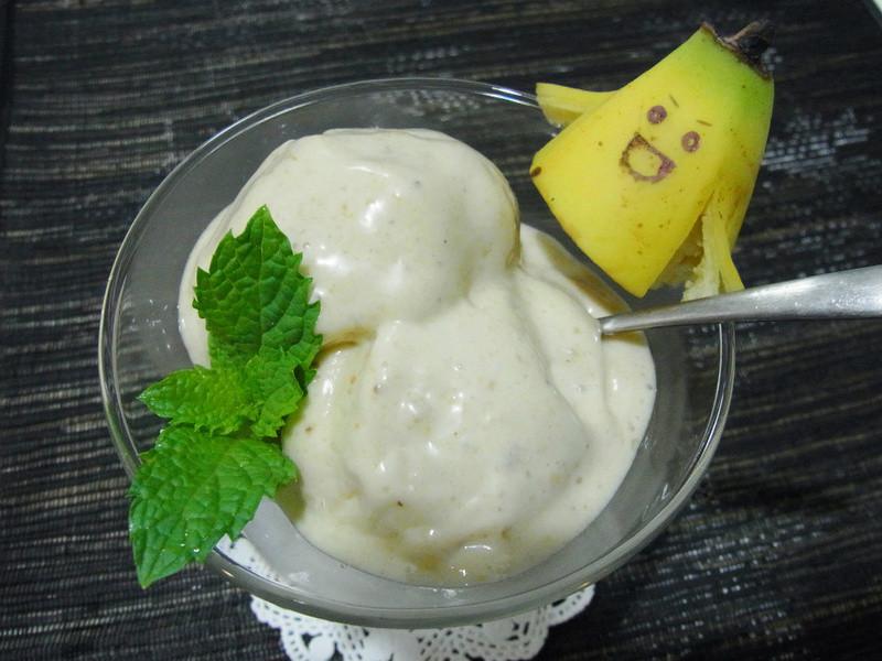 超簡單‧香蕉花生冰~~天然ㄟ尚好