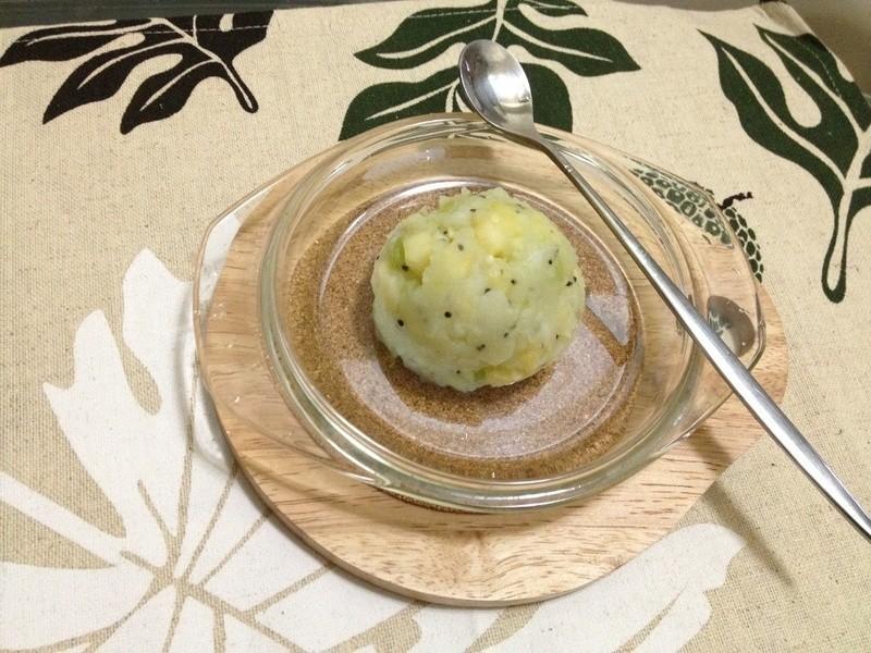 夏日清爽馬鈴薯水果泥