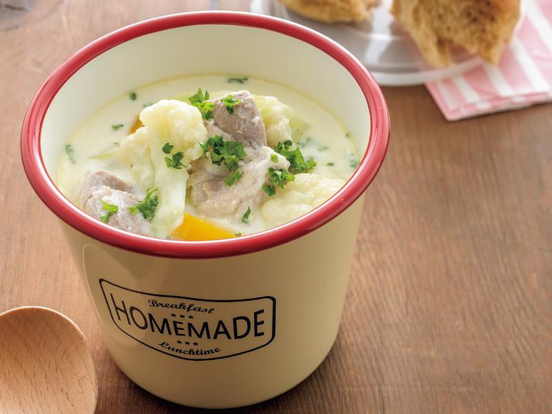 東販小食堂:雞肉花椰菜奶油濃湯