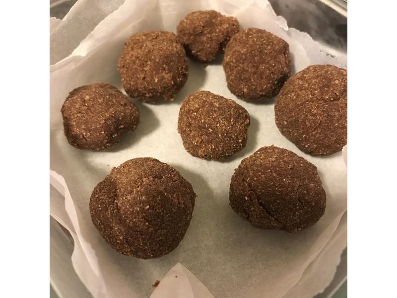 布朗尼球(椰子麵粉/免烘焙)