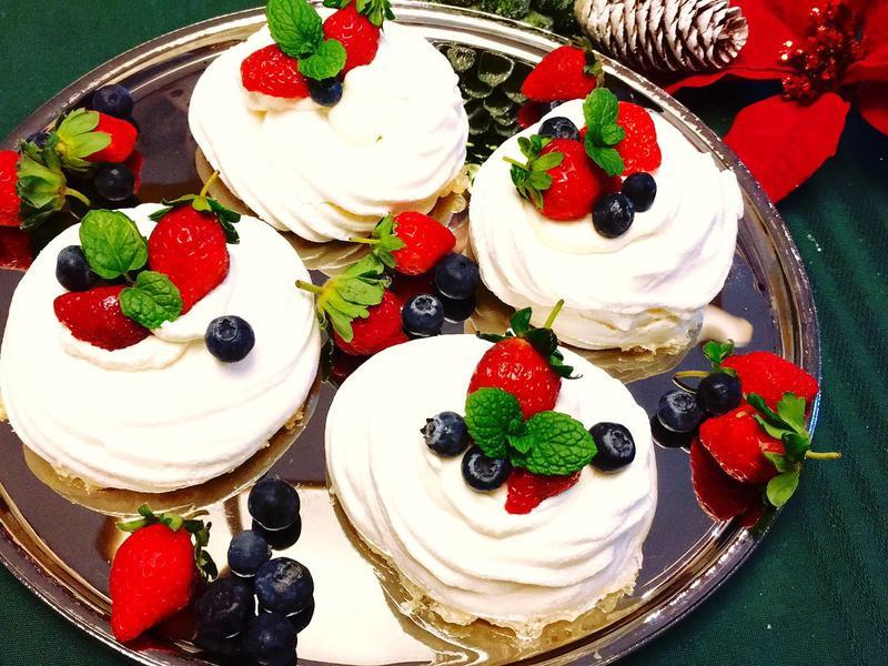 Pavlova 帕芙洛娃🎄聖誕蛋糕