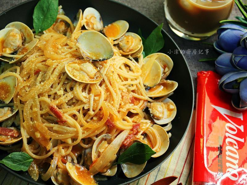【一鍋到底】紅醬蛤蜊義大利麵