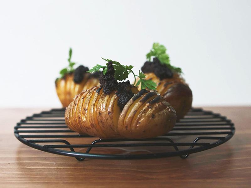 黑松露奶油烤千層馬鈴薯