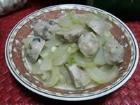 大黃瓜炒香菇丸