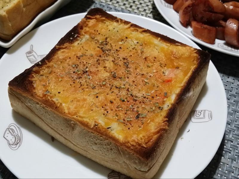 焗烤白醬雞肉厚片♡