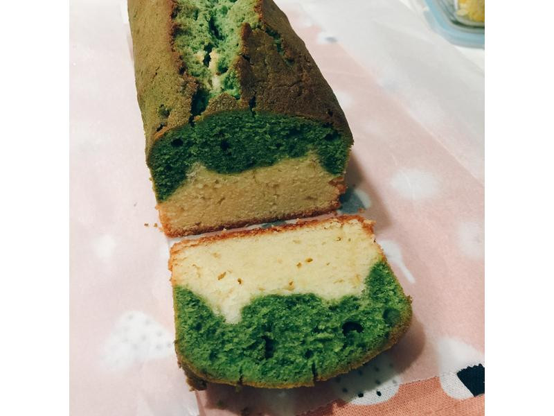[阿雞師烘焙教室]抹茶磅蛋糕 富士山造型