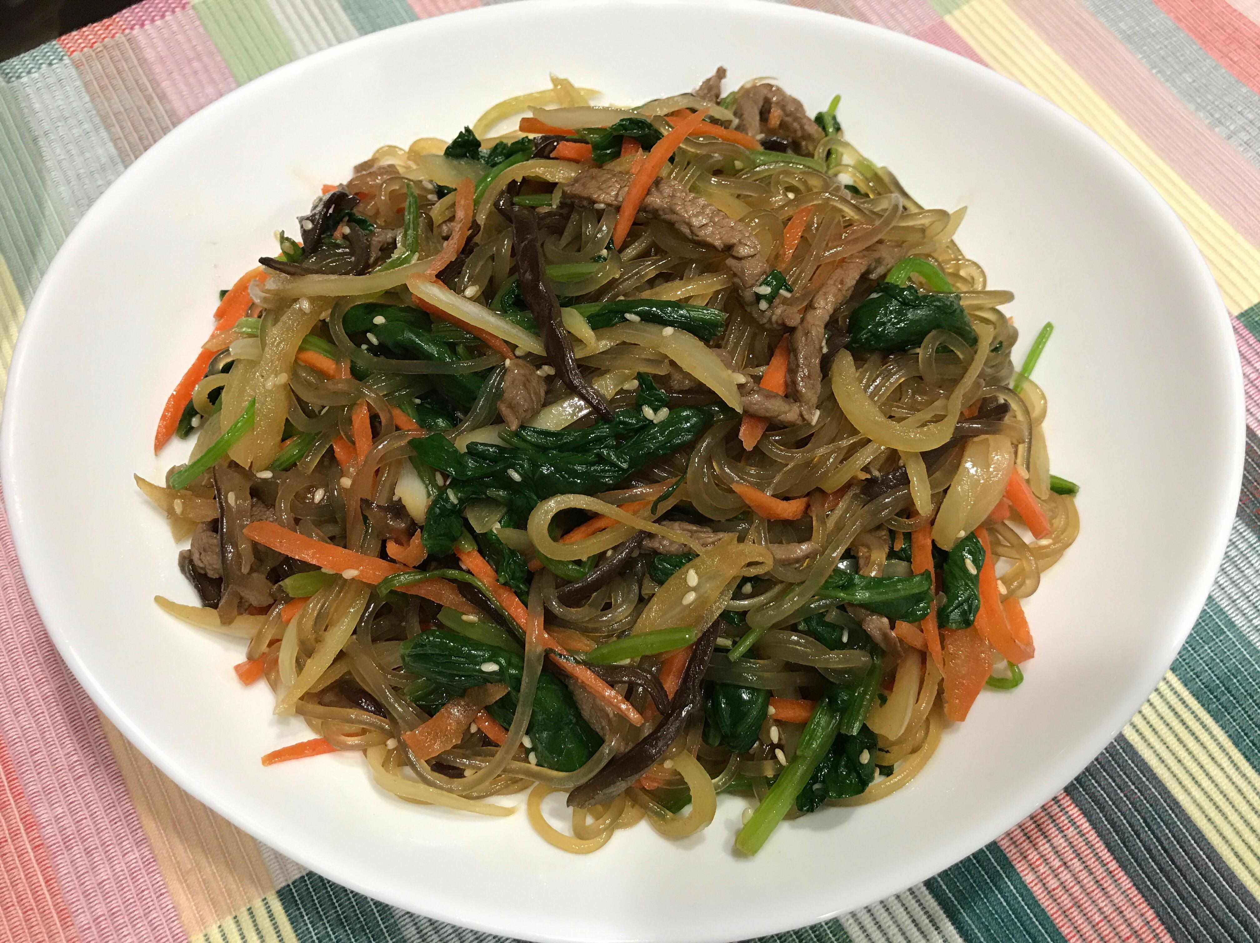 韓式拌冬粉(雜菜)