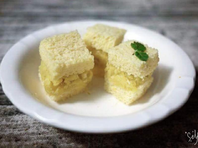 奶香地瓜泥蜂蜜蛋糕