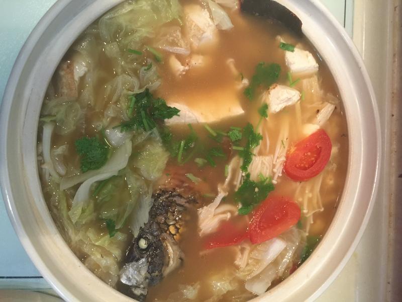 砂鍋魚頭簡易版