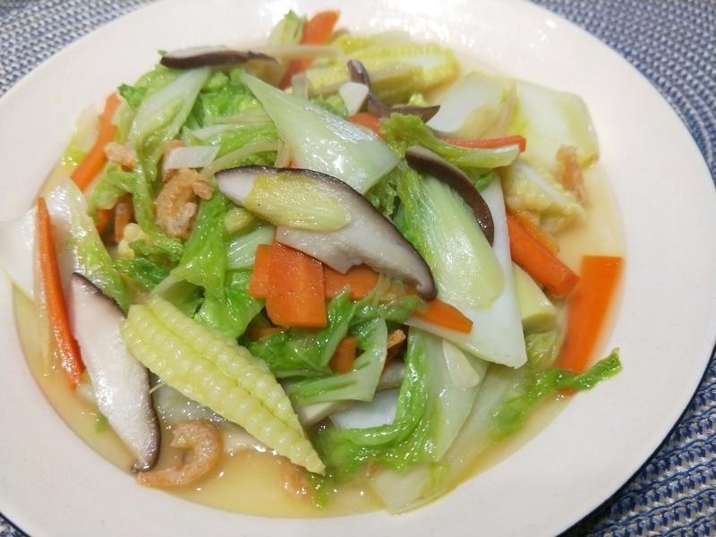 蝦米炒翠玉娃娃菜