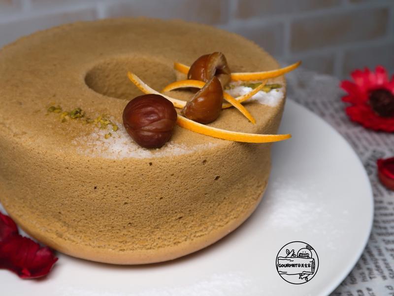 抹茶戚風蛋糕(純粹的風味)