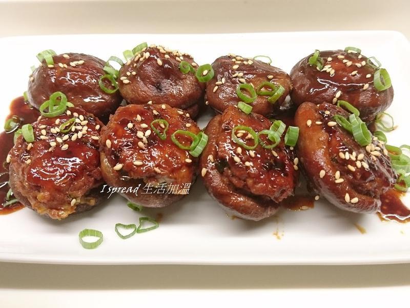 醬燒香菇鑲肉