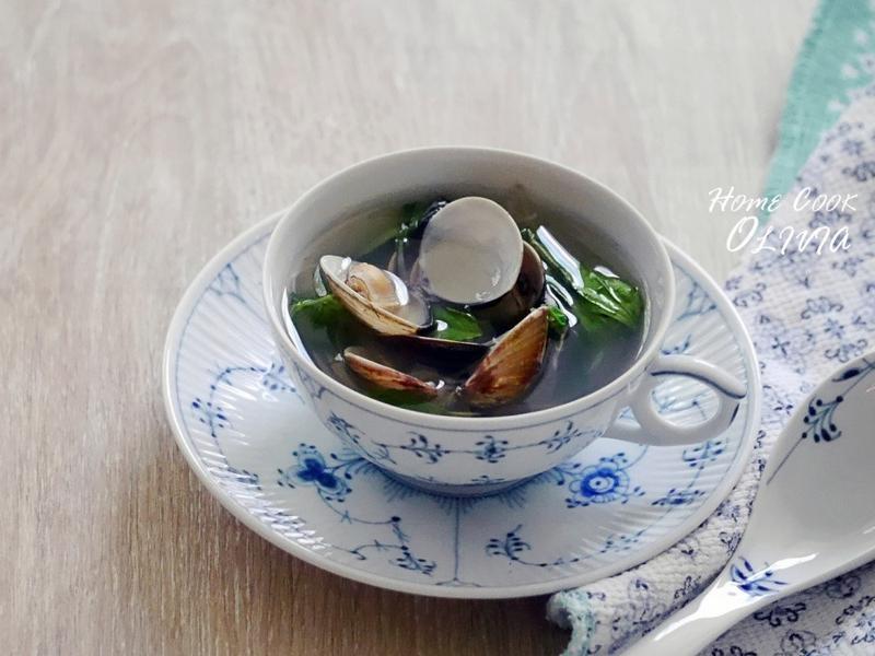 小廚娘❤薑絲蛤蜊湯#電鍋