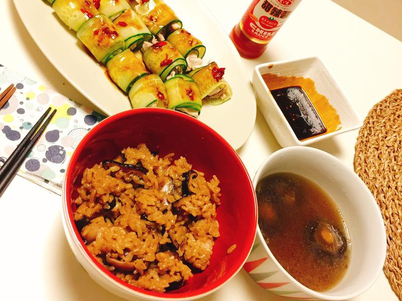 超簡單台灣味油飯