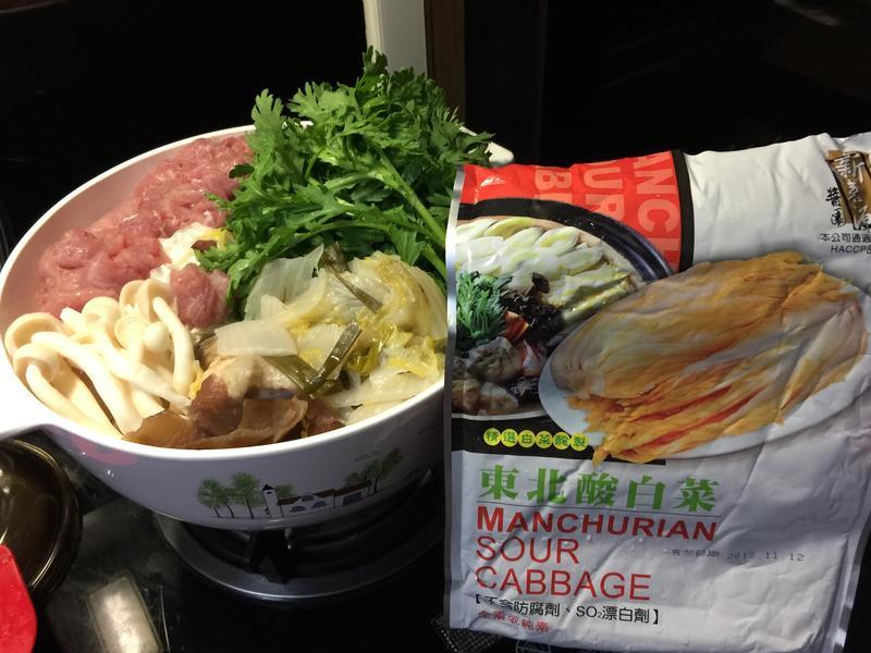 東北酸白菜鍋