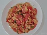 家常菜。蕃茄炒蛋