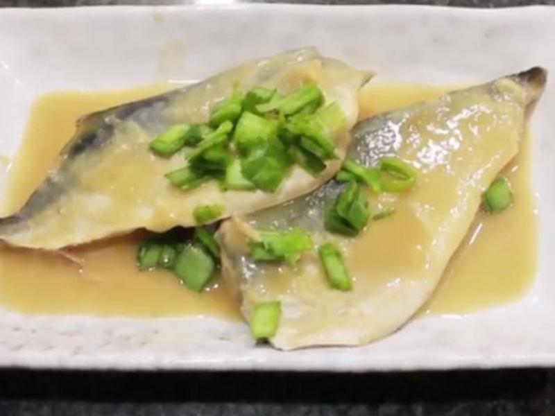 超配飯2分鐘食譜 鯖魚味噌煮