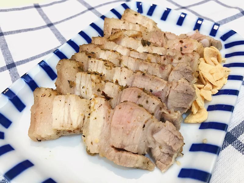 鹽麴香烤豬五花~鮮嫩多汁