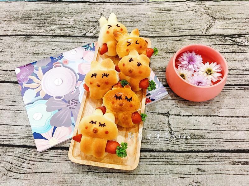 兔寶寶熱狗麵包