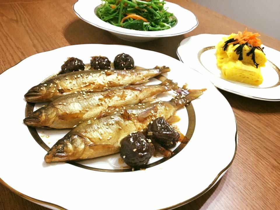 香魚甘露煮