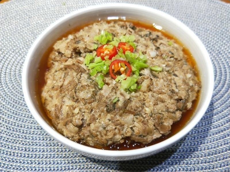 紹興梅干蒸肉