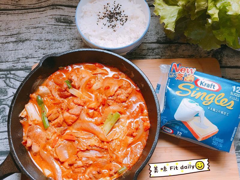 韓式起司辣雞😍