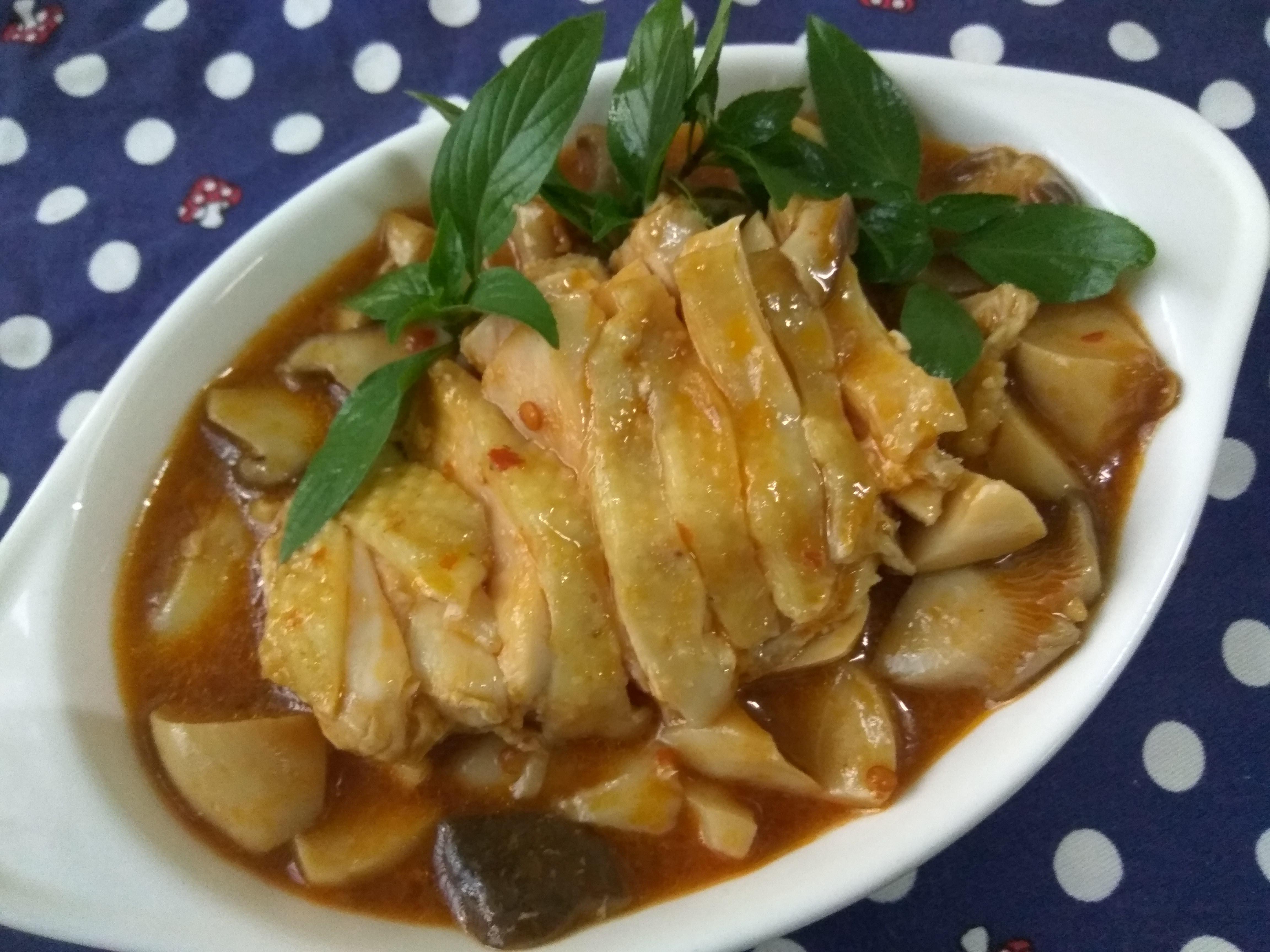十分鐘上菜─口水杏鮑菇菇雞