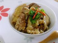 麻油香菇豬肉飯【台糖安心豚-腰內肉】