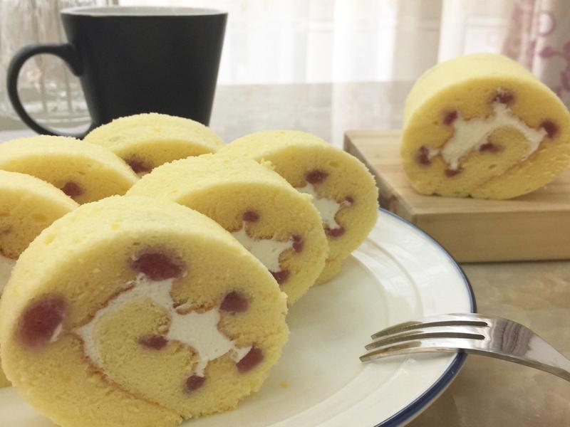 草莓摩天輪蛋糕卷